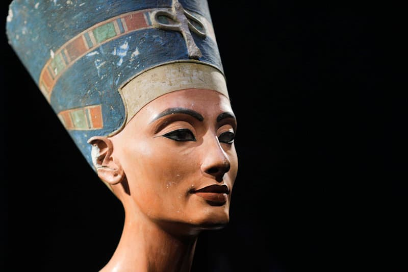 Mideast Egypt Nefertiti
