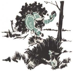 La cabra y el zorro