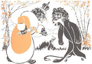 El león y la cabra