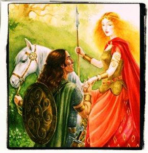 La hija del rey de la tierra de la Juventud
