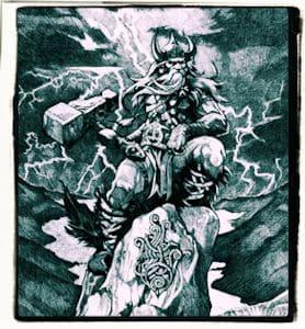 Thor en el país Utghardaloki