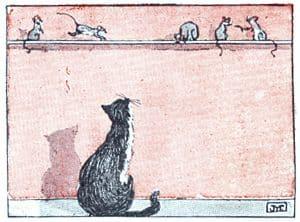 El gato y los ratones