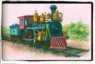 """La locomotora del rey """"Bomba"""""""