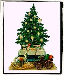 El primer árbol de Navidad